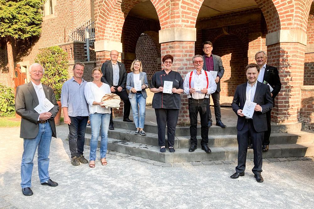 """Teilnehmer der Aktion """"4 Köche für Willich"""""""