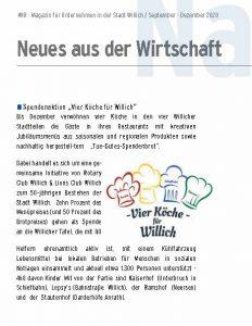 Wirtschaftmagazin Willich 4 Köche
