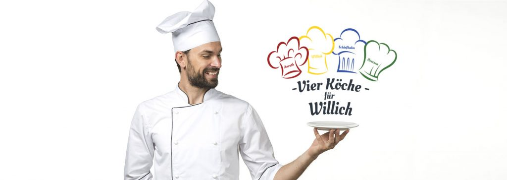 Banner 4 Köche für Willich